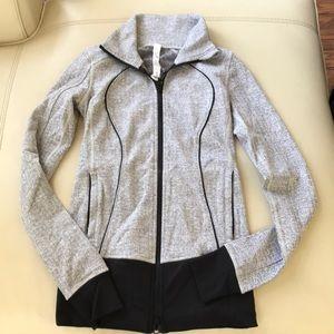 Lululemon forme jacket grey 2 long